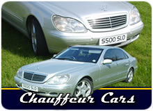 Chauffeur Cars For Weddings, Business And Airport Transfers