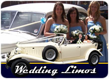 Modern And Classic Wedding Cars